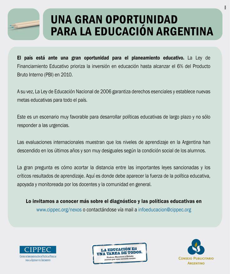 """""""Educación -oportunidad-"""" 2009"""