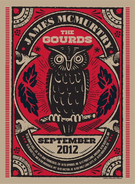 GigPosters.com - James Mcmurtry - Gourds, The