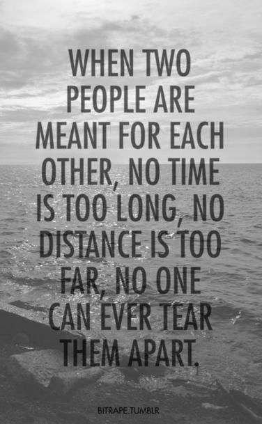 15 Beautiful Long Distance Love Quotes For Her: 17 Best Long Relationship Quotes On Pinterest