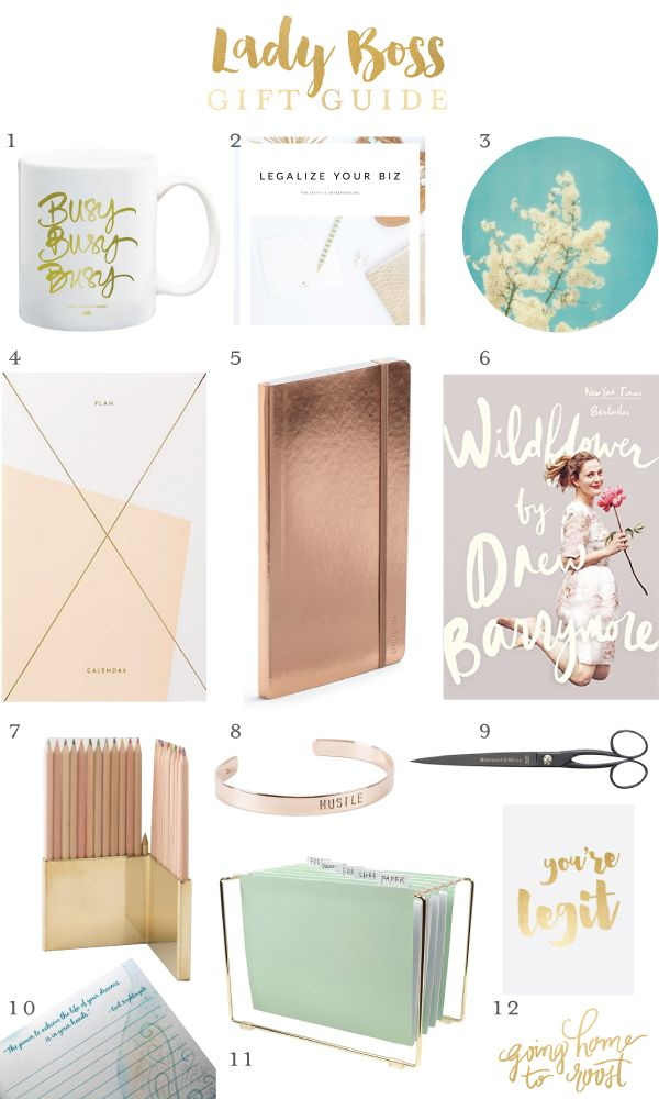 Gift Guide No 1 Lady Boss Christmas Pinterest