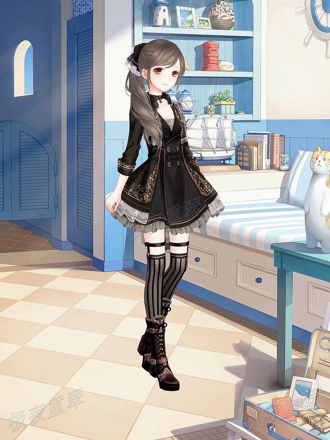 Best 25  Gothic anime girl ideas on Pinterest | Gothic anime ...
