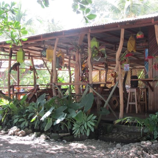 Regae Bar and Restaurant at Playa Negra, Cahuita, Costa Rica