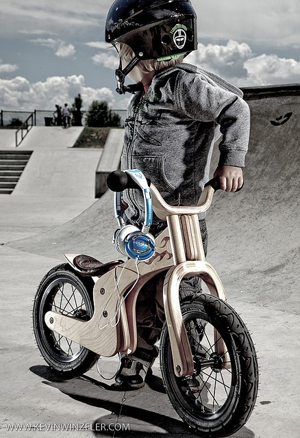 Kevin Winzeler did some amazing photography with his son on his Early Rider Lite