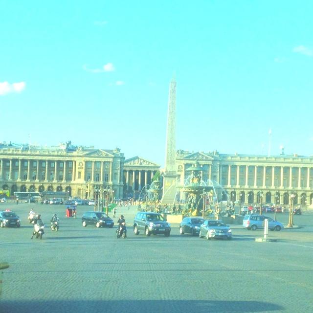 Place de la Concorde - August 2012