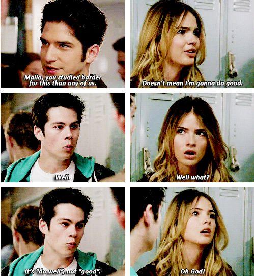 """Teen Wolf 4x07 """"Weaponized"""" ~                                 Scott, Stiles & Malia"""
