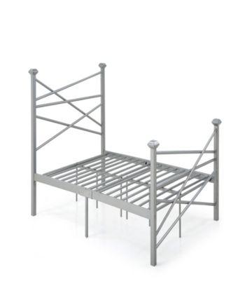 Best Complete Metal Queen Size Bed With Headboard Footboard 400 x 300