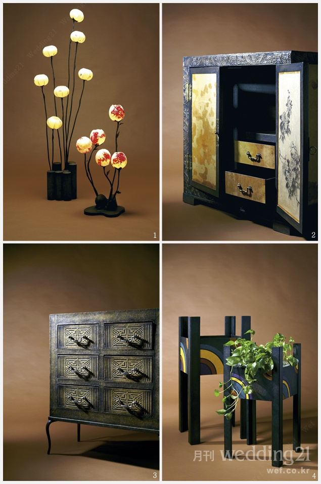 Various props  for Korean style home decor