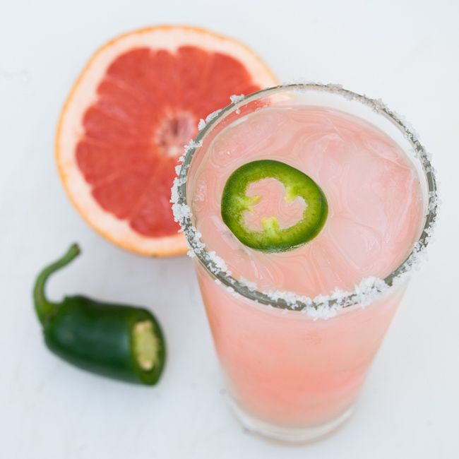 'Spicy Paloma' recipe for Cinco de Mayo