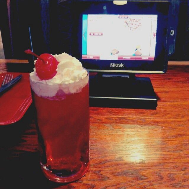 Photo of Red Robin Gourmet Burgers - San Diego, CA, United States. Cherry cream soda!