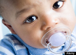 Pacifiers And Breastfeeding: New Study Challenges Conventional Wisdom (So they took away pacifiers as one step to becoming a baby friendly hospital, but did they actually increase BFing help? That wasn't made clear at all in the article and would make a BIG difference. BFHs don't have formula period in rooms, but there is 24/7 help with BFing. Sounds like this hospital might have forgotten that increased BFing help needs to come first before forgoing pacis.)