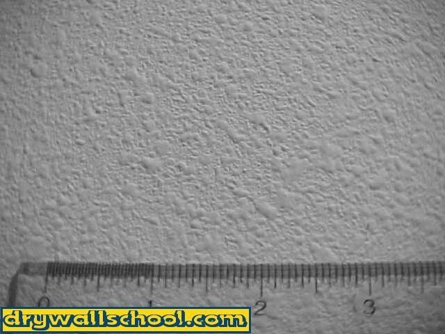 How to do orange-peel style texturing with drywall mud.