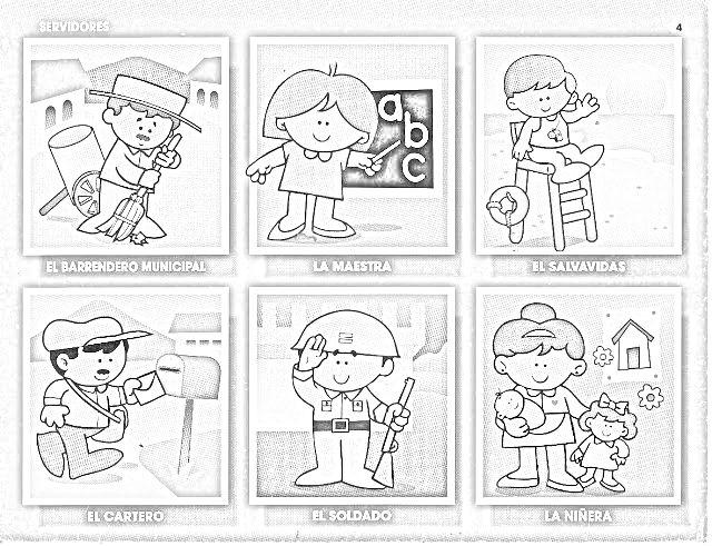 Efemerides De Marzo Para Colorear Imagui Fichas 1 Preescolar