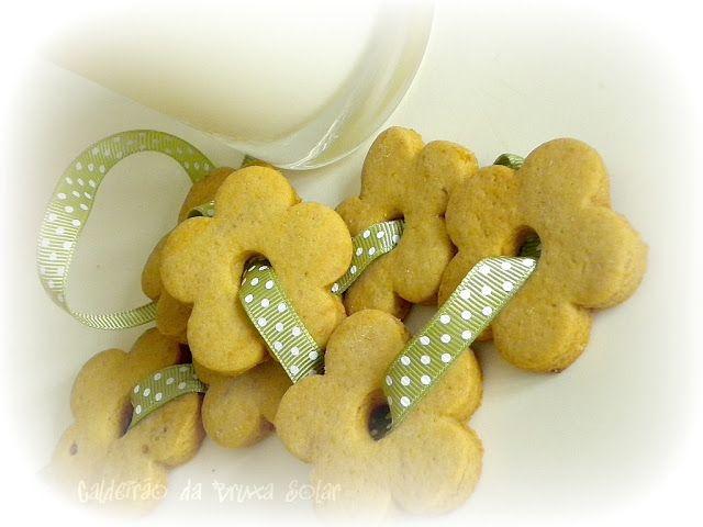 Biscoitos de gengibre e limão