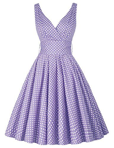 PAUL JONES Women's V-Neck Polka Dot Vintage Party Dress   https://www.amazon.com/gp/product/B01IUT6SV2/ref=as_li_qf_sp_asin_il_tl?ie=UTF8&tag=rockaclothsto-20&camp=1789&creative=9325&linkCode=as2&creativeASIN=B01IUT6SV2&linkId=f2b7328d23cb0624c81a9a20d56090a1