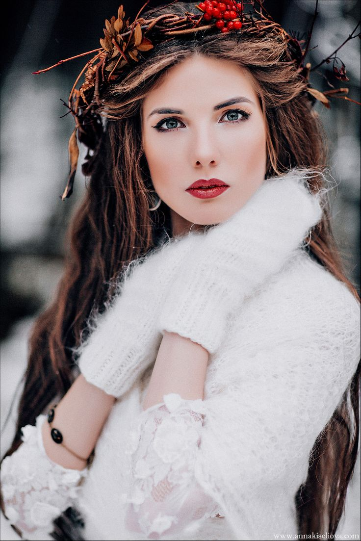 какой макияж лучше для зимней фотосессии месте падения