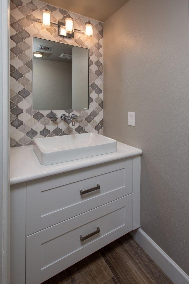 Tempe bathroom vanity remodel by design/build contractor