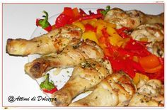 COSCE DI POLLO AL ROSMARINO / CHICKEN LEGS WITH ROSEMARY