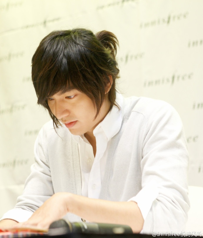 Lee Min Ho Oppa. One of my crush from South Korea. LOL. cr. innisfree weibo