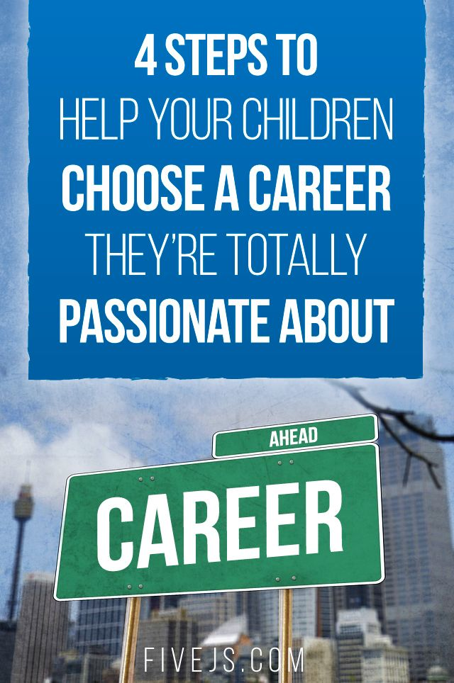 A 4-step plan to help your child choose a career. #homeschool  ♣  15.6.29