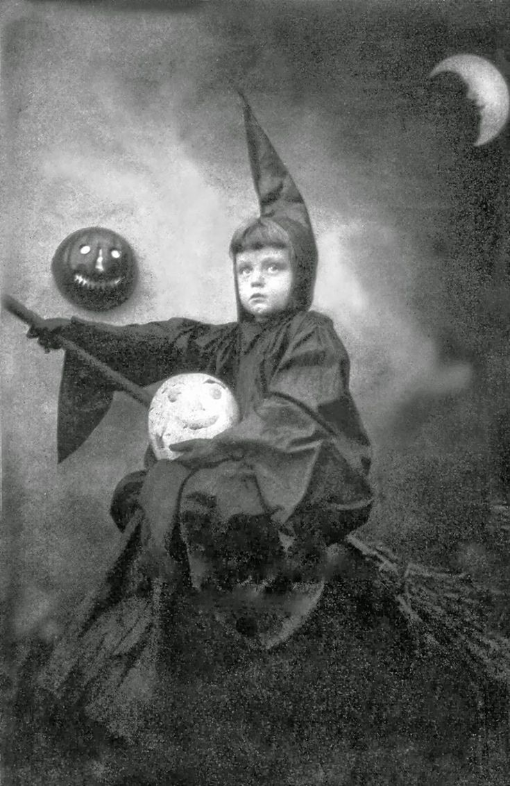 vintage everyday vintage photos of funny halloween costumes from between the to ohh geez thats quite the hat - Vintage Halloween Witches