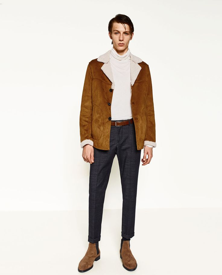 Image 1 of DOUBLE-SIDED THREE QUARTER LENGTH COAT from Zara