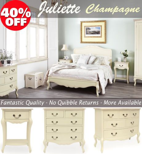 #shabby chic #champagne furniture, cream chest of #drawers, dressing table, ches,  View more on the LINK: http://www.zeppy.io/product/gb/2/360898220734/