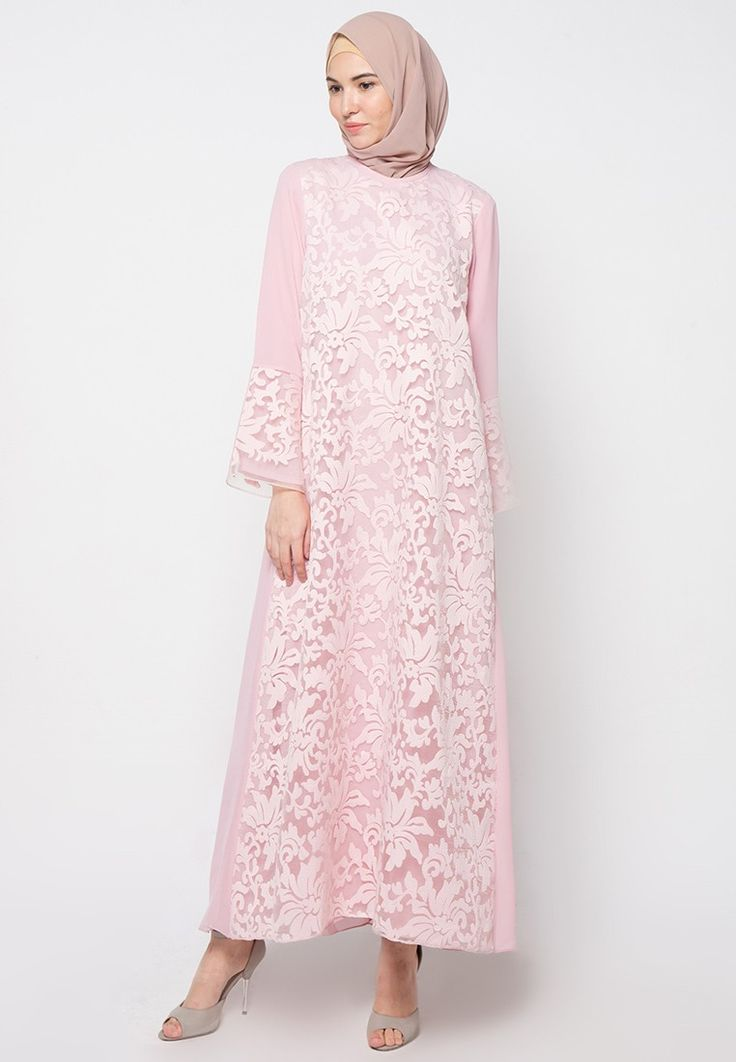 Lacey Gamis from Kamilaa by Itang Yunasz in pink_1