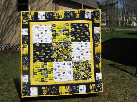 9 best Projects to Try images on Pinterest | Michigan, Sports ... : michigan quilts - Adamdwight.com