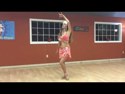 Sadie Marquardt -- Polynesian style bellydance - YouTube