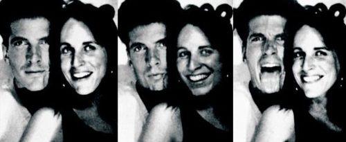 John Kennedy Jr. and Christina Haag