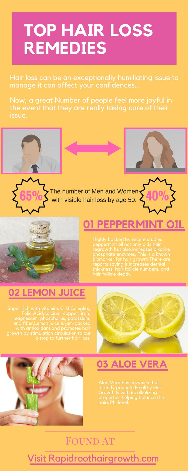 Hair loss remedies- My top three hair loss treatments best for promoting hair regrowth.