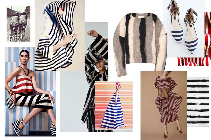 Spring summer stripes trend 2016