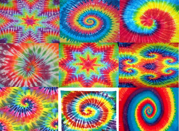 pictures of adire batik kala and tie dye patterns