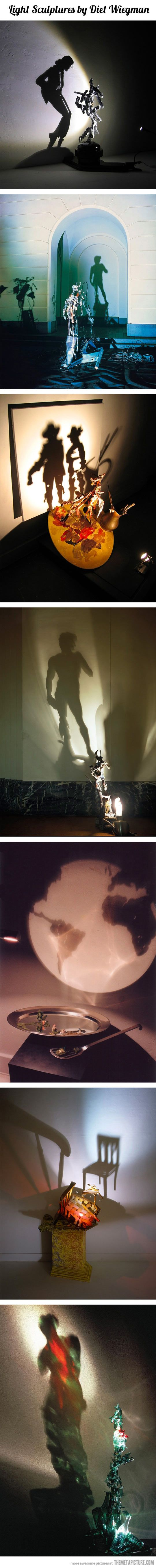 Awesome light sculptures…