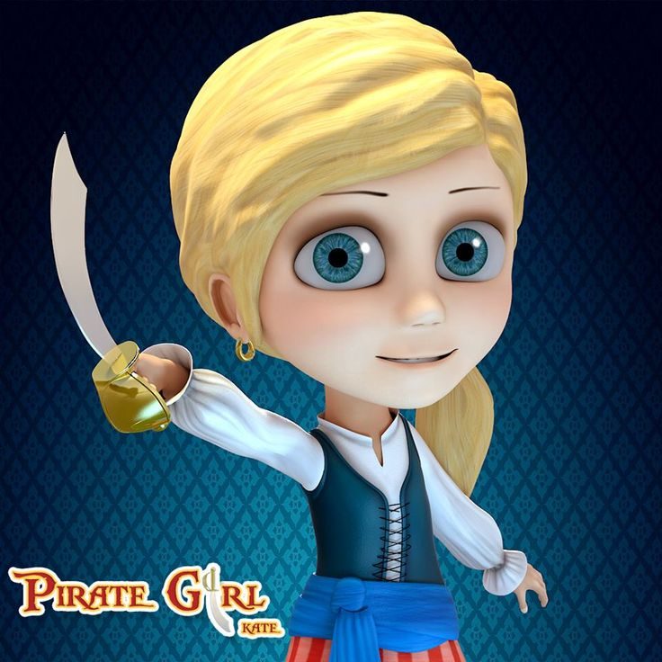 What do you think of the new look of our #pirate_girl?