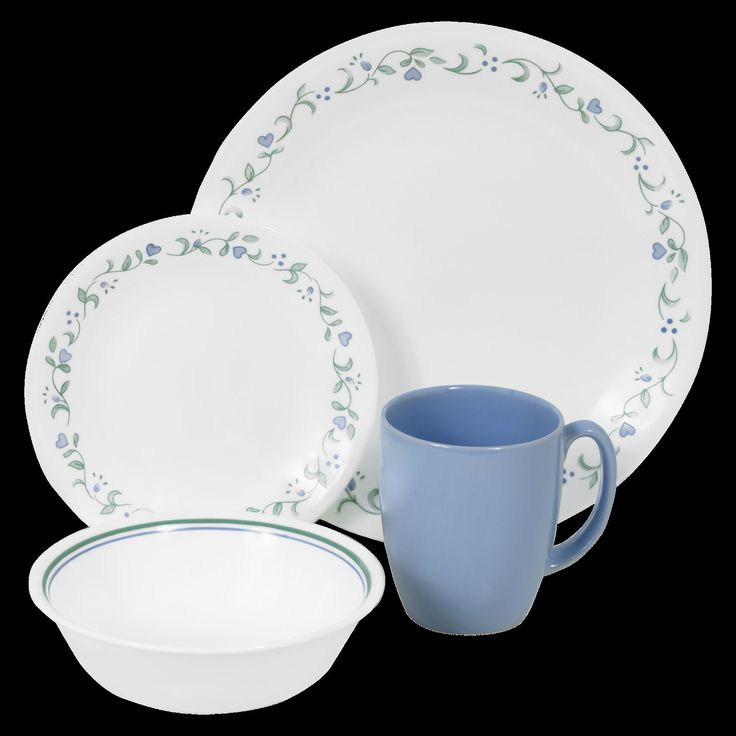 Corelle Livingware 16pc Dinnerware Set Country Cottage
