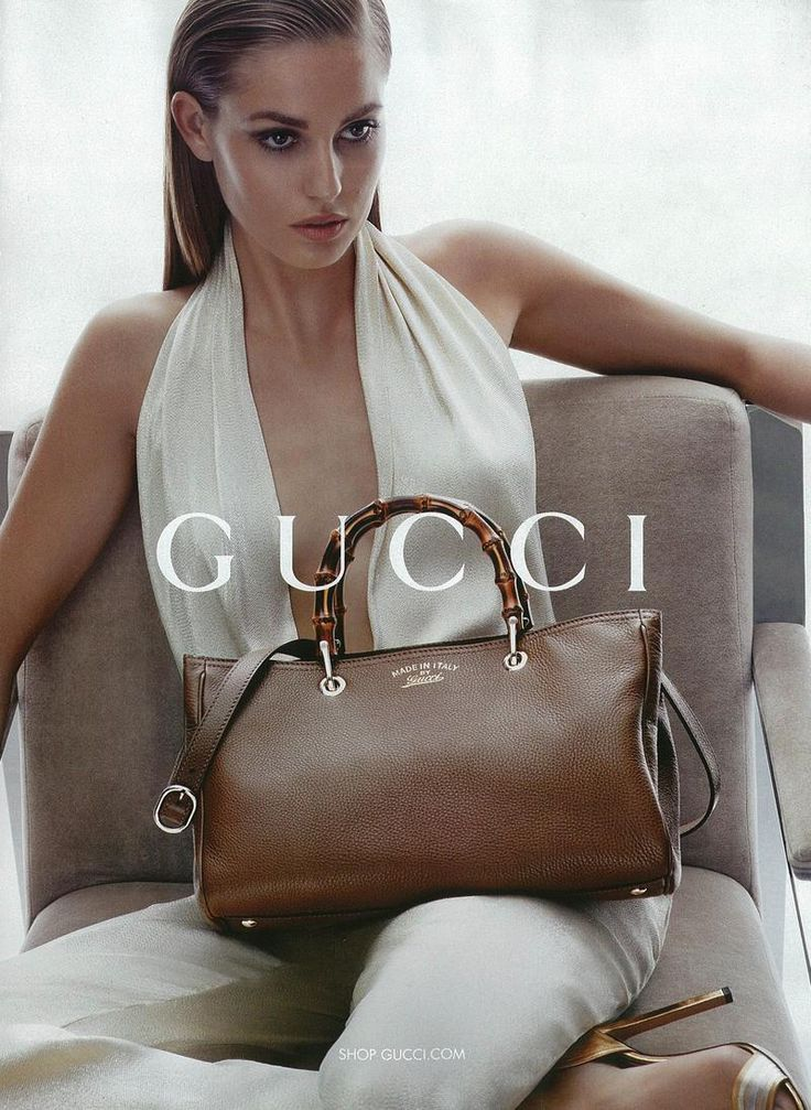Gucci Accessories Cruise 2014 Campaign  In this picture:  Nadja Bender Credits for this picture:  Sølve Sundsbø (Photographer)