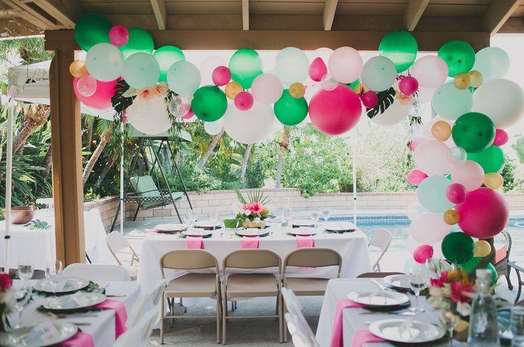 Tropical Bridal Shower: 25+ Best Ideas About Luau Bridal Shower On Pinterest