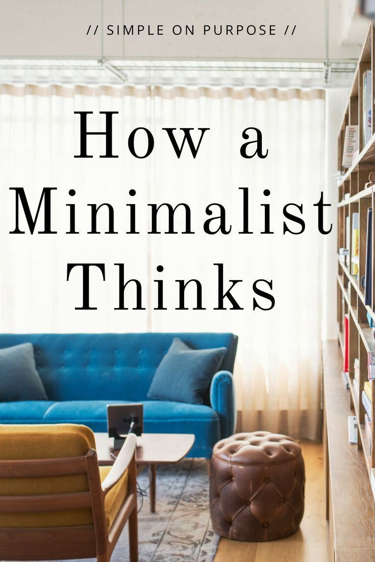 We can just simply declutter our homes, but a minimalist approaches life and their home with more than just a decluttering mindset.