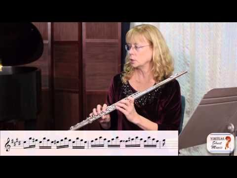 Tonguing on the Flute - Part 2 - Video by The Flute Show on Virtual Sheet Music