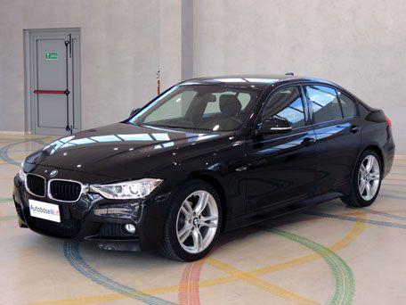 BMW 316 D MSPORT F30 Navigatore + Fari Xeno + Sedili sportivi in Alcantara + Cerchi in lega 18 + Bluetooth + Sensori di parcheggio + Comandi al volante + Volante sportivo 3 razze + Sedili risc + Climatizzatore bi-zona + Fendinebbia + del 2012