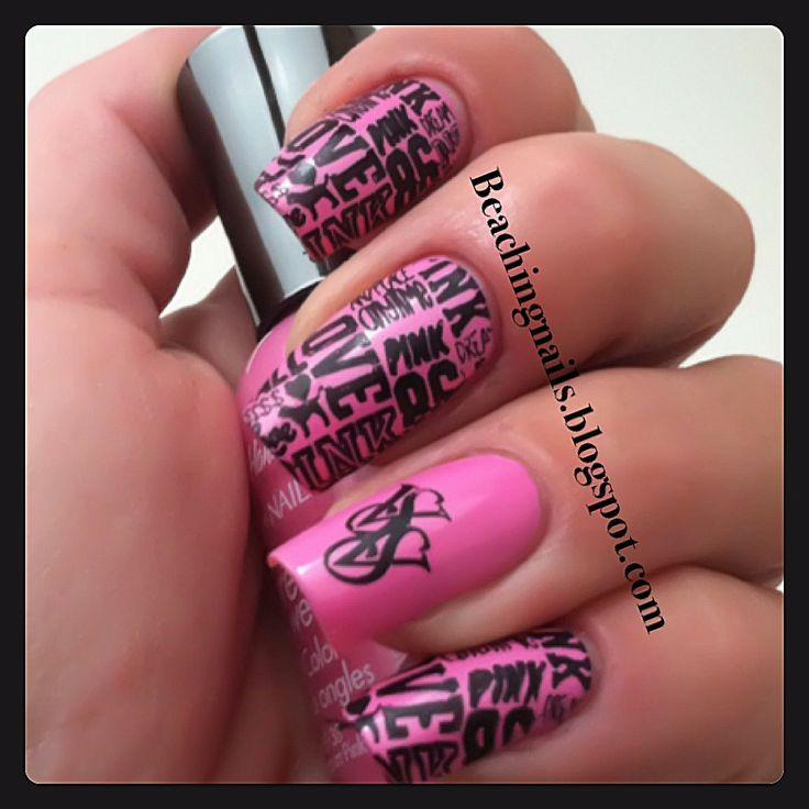 Victoria Secret Nail Art