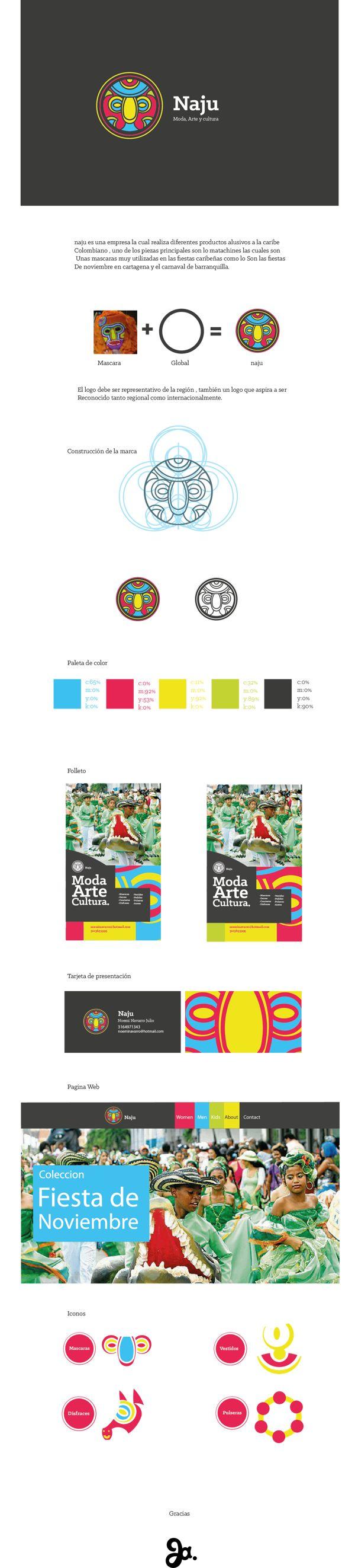 NAJU branding on Behance  compañero y amigo diseñador gráfico, lo recomiendo, este es uno de sus mejores trabajos. Su nombre es Julio Cubides  / companion and friend graphic designer, I recommend it, this is one of his best WORKS. His name is Julio Cubides