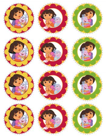 Dora the Explorer Free Printables.