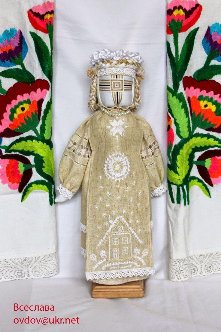 FolkArtUA-motanka: Лялька, яка береже дім.