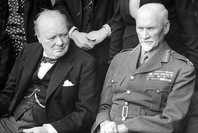 Prime Minister Winston Churchill and Field Marshall Jan Christian Smuts... | Flickr - Photo Sharing!