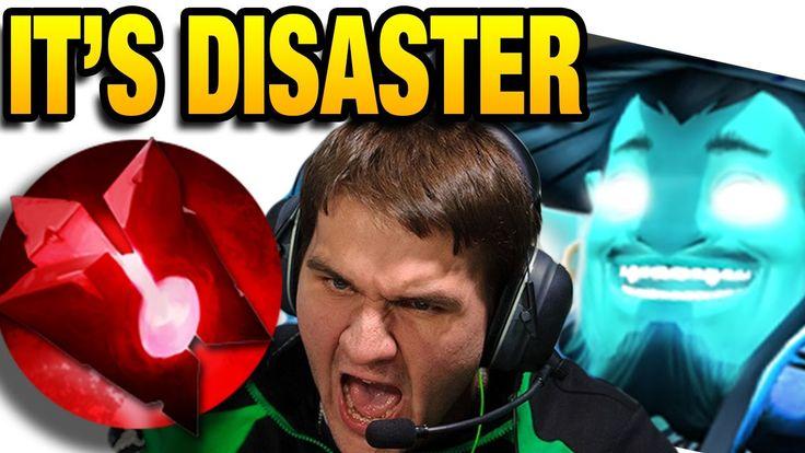 Inyourdream Dota 2 [Storm Spirit] vs Black [Invoker] Disaster Game