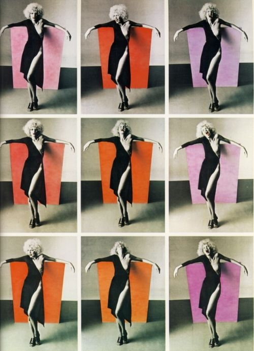 Fashion photograph by Oliviero Toscani, 1970s.