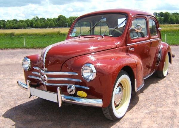 Renault 4CV - 1955                                                                                                                                                                                 Plus
