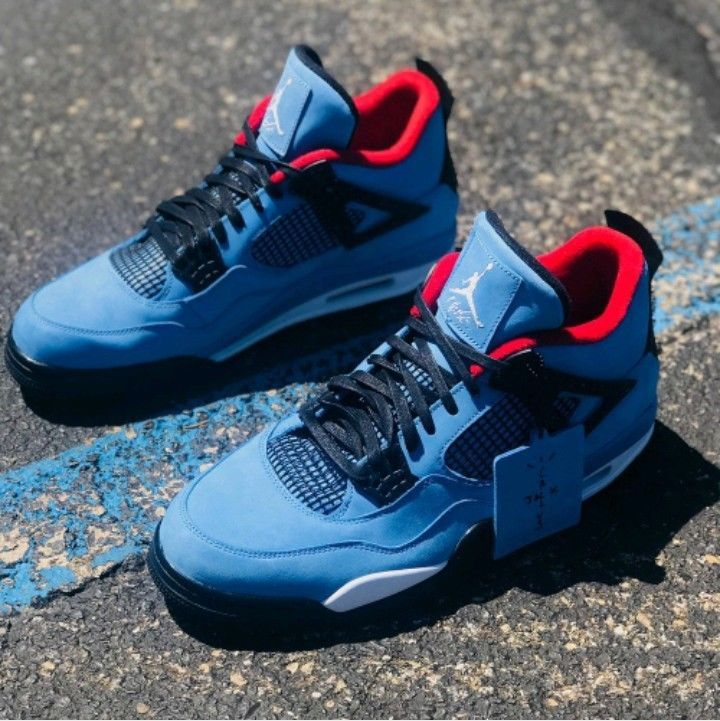 Air Jordan 4 Travis Scott Cactus Jack New In Box Sizes 7 13